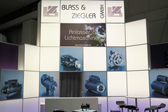 [Translate to Francaise:] Agritechnika 2015 Stand Blass und Ziegler